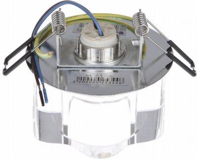 Світильник точковий Brille HDL-G176 CH CL (L13-007)