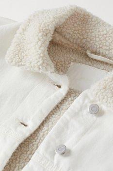 Куртка H&M 8496591 Кремовая