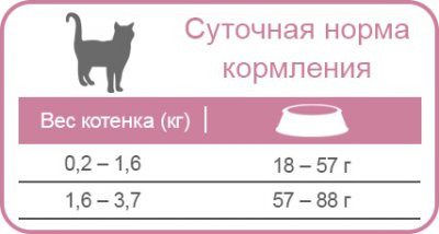 Сухой корм для котят Equilibrio Kitten с курицей и рыбой 500 г (7896588927982)