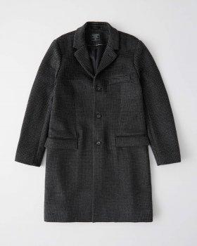 Пальто Abercrombie & Fitch AF7744M Сірий