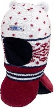 Зимняя шапка-шлем David's Star 17330-1 54 см Бордовая (ROZ6400021806)