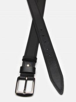 Мужской кожаный ремень Laras Cvgnn17 Черный (ROZ6400018322)