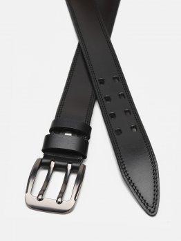 Мужской кожаный ремень Laras Cvgnn27-115 115 см Черный (ROZ6400018317)