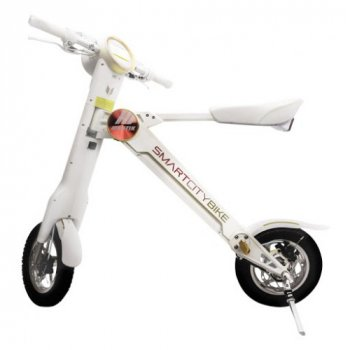 Электровелосипед Uvolt Smart Sity 250W Складной Белый