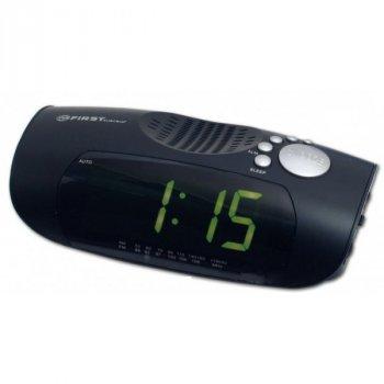 Радиоприемник часы FIRST FA-2419-2-Black