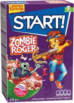 Упаковка сухого завтрака Start зомби Роджер 250 г х 12 шт (4820237690142)