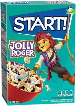 Упаковка сухого завтрака Start Веселый Роджер 250 г х 12 шт (4820008123299)