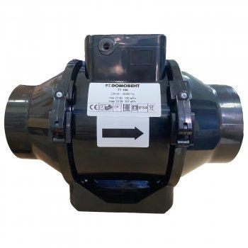 Вентилятор канальный Домовент TT 100 черный (Domovent TT 100)