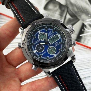 Наручные часы AMST 3022 Black-Silver-Blue