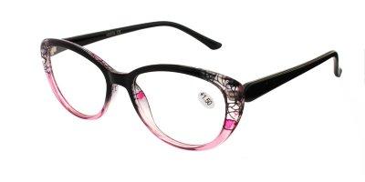 Очки для чтения женские в пластиковой оправе Vesta 19304С1 (+1.50) разноцветные