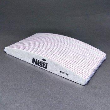 Пилки для нігтів 100/180 NIsu Professional 25 шт