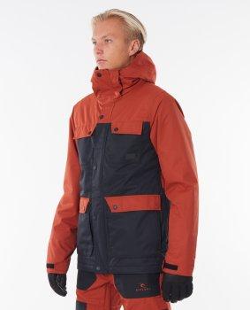 Куртка Rip Curl SCJDV4-9665 Cabin Jacket Красная с синим