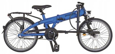 Електровелосипед складний Prophete 20 Nexus 3 Blue Німеччина