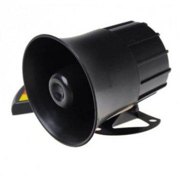Рупор Мегафон FGH Поліцейська сирена 30W Сигнал сирени Поліцейський звук (303)