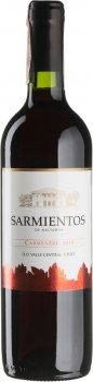 Вино Sarmientos Carmenere Tarapaca красное сухое 0.75 л 13% (7804340802255)
