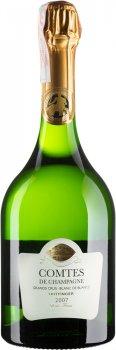 Шампанське Taittinger Comtes de Champagne Blanc de Blancs Brut 2007 біле брют 0.75 л 12.5% (3016570001412)