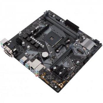 Материнская плата AM4 (B450) Asus PRIME B450M-K, B450, 2xDDR4, Int.Video(CPU), 4xSATA3, 1xM.2, 1xPCI-E 16x 3