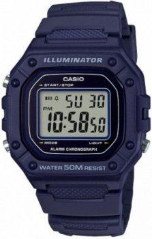 Чоловічий наручний годинник Casio W-218H-2AVEF