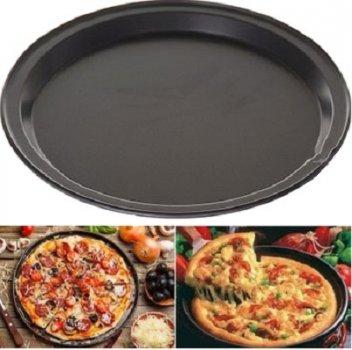 Форма-деко для піци A-PLUS круглий 26 х 1,5 см із нержавіючої сталі