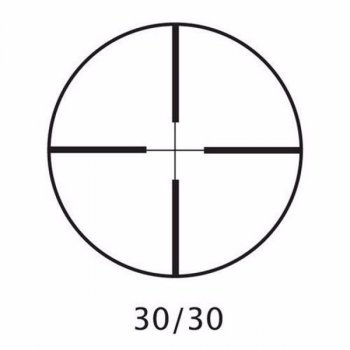 Приціл оптичний Barska Huntmaster 3-9x32 (30/30 Cross)