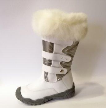 Зимние сапоги для девочки Bartek 717747 белые