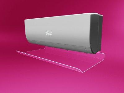 Захисний екран для кондиціонера з акрилу шириною 750мм (дефлектор) Ташута (38-10070-02)