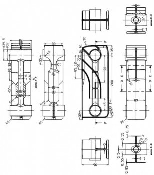 Радиатор биметаллический GALLARDO Bismall 200/96 10 секций