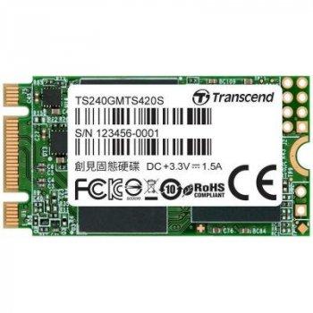 Накопитель SSD M.2 2242 240GB Transcend (TS240GMTS420S)