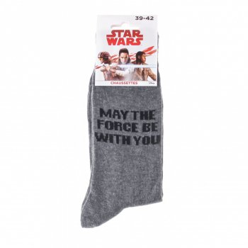 Носки Star Wars May The Force Be With You (93154262-3) grey
