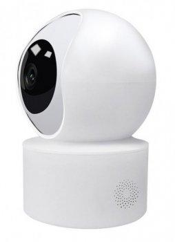 Беспроводная поворотная комнатная IP камера WiFi microSD CareCam 23ST 6914 White