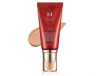 Увлажняющий и матирующий BB крем для лица Missha Perfect Cover BB Cream SPF 42 №23, 50мл (8806333353736)