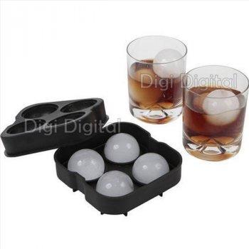 Форма силиконовая для льда Сферы Шарики 4.5 см Ice Ball кубики льда для охлаждения виски