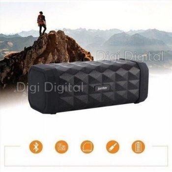 Портативна бездротова Bluetooth колонка Jonter M99 microSD AUX водонепроникна Чорна