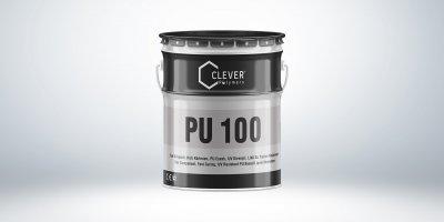 Однокомпонентна поліуретанова гідроізоляція Clever Polymers PU BASE 100 сіра 5 кг.