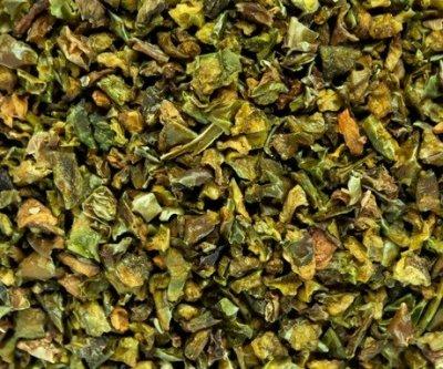 Паприка зеленая резаная 6*6 100г