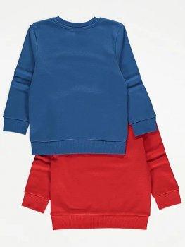 Свитшот (2 штуки) George Р070 Красный, синий (P-6910806230409)