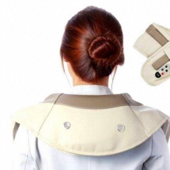 Массажер Cervical Original ударный Massage Shawls для шеи и плеч (SKL11-187048)