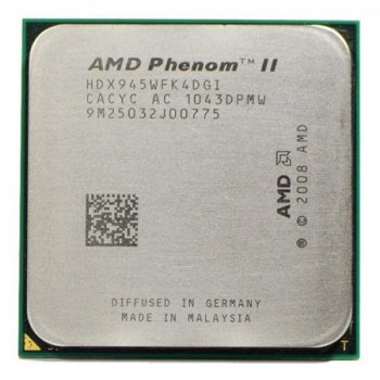 Процессор AMD Phenom II X4 945 3,0GHz AM3 Б/У