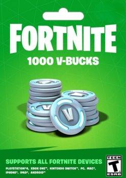 Fortnite 1000-баксів (1000 V-BUCKS) | Nintendo Switch