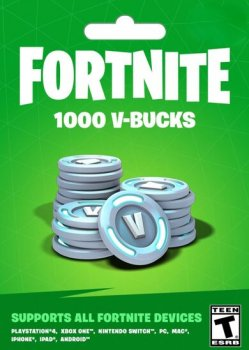 Fortnite 1000-баксів (1000 V-BUCKS) | Всі платформи