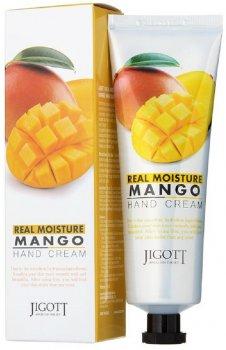 Крем для рук Jigott Real Moisture Mango Hand Cream с экстрактом манго 100 мл (8809541280795)