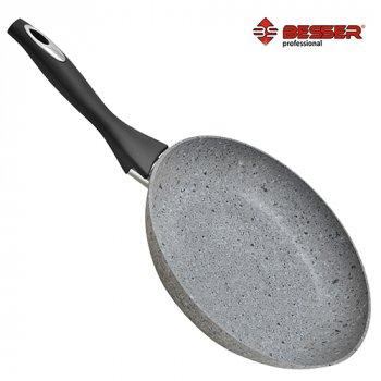 "Сковорода литая покрытие ""Granite"" инд.дно 26см Stenson (10335)"