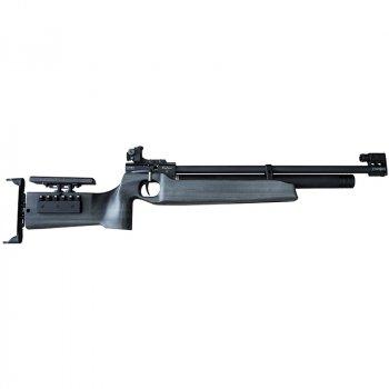 Гвинтівка пневматична Zbroia Biathlon PCP (4.5 мм), з попередньою накачуванням, чорна