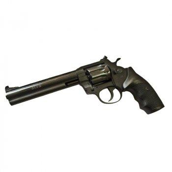 """Револьвер під патрон Флобера Alfa 461 (6.0"""", 4.0 мм), ворон-пластик"""