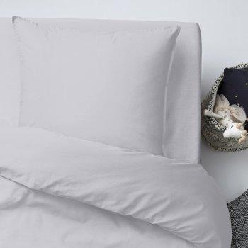 Комплект постельного белья Cosas Ranfors Grey Grey 155х215 (Ranfors_Grey_Grey_155) (4822052031575)