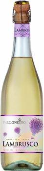 Вино ігристе Palloncino Lambrusco біле напівсолодке 0.75 л 8% (8004810048483)