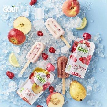 Дитяче фруктове пюре Good Gout Яблуко 90 г х 4 шт. (3760269310292)