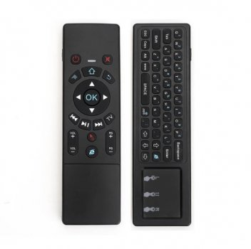 Клавіатура Гироскопическая Air Mouse JS6 Keyboard (анг) + Touchpad, Акумулятор, (картон)