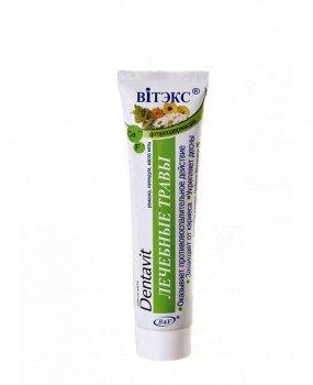 Зубная паста со фтором Dentavit Витекс Дентавит Лечебные травы 160 г (4899153006820)