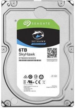 Жорсткий диск Seagate SkyHawk HDD 6TB 7200rpm 256MB ST6000VX0023 3.5 SATAIII